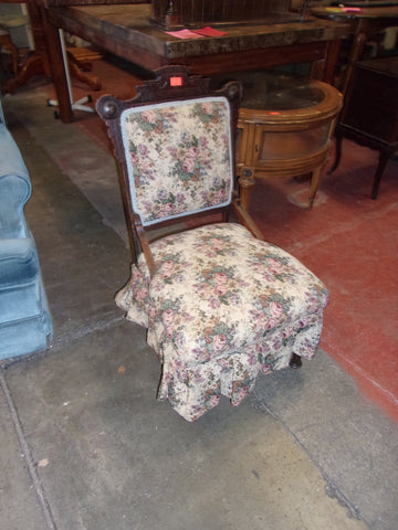 Antique East Lake accent chair 20890