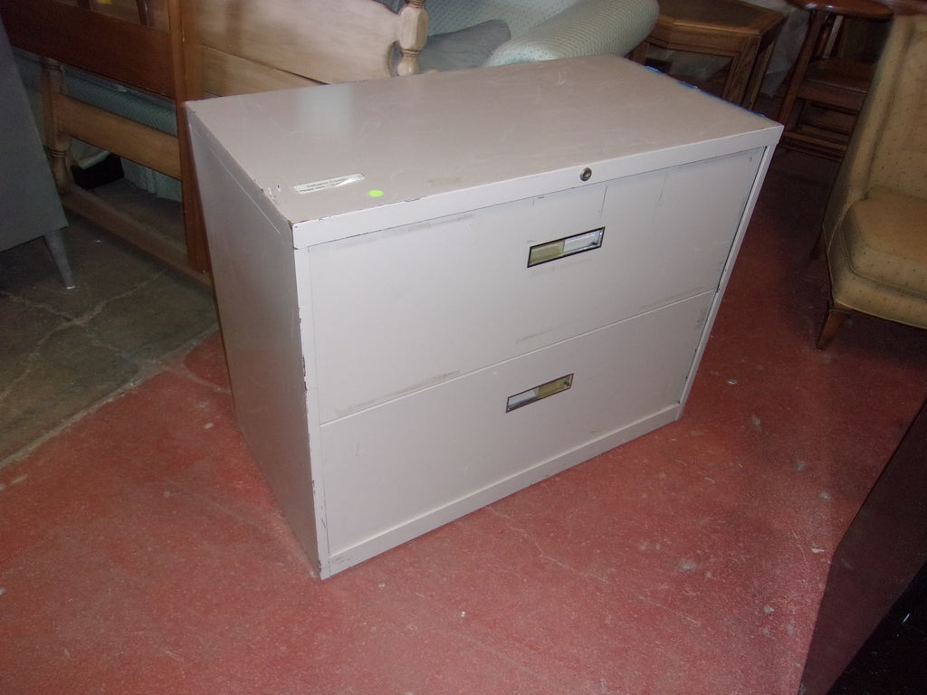 2 drawer lateral file cabinet 20936