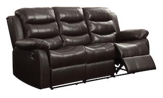 Rodman reclining sofa top grain leather NEW CO-602221