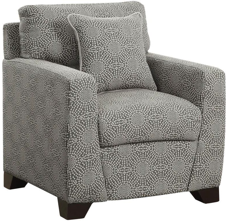 CLEARANCE 50% OFF SPECIAL ORDER Kelvington Grey accent chair CO-505455 <strike>$416 </strike> $208