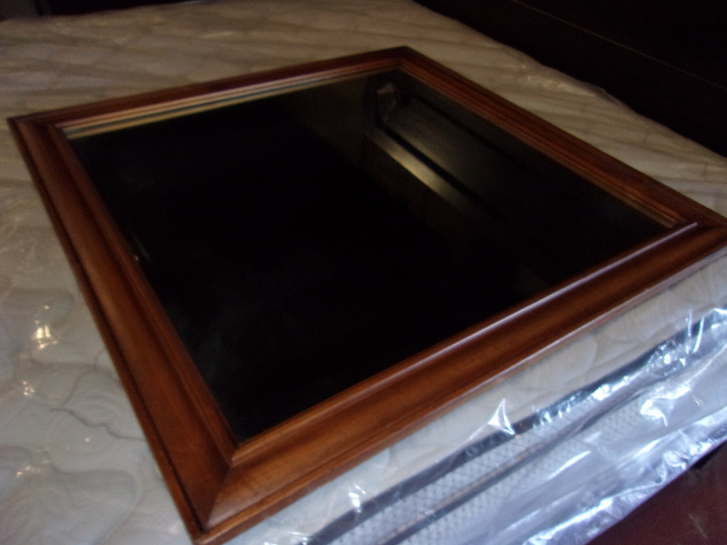 Mirrors wood frame vintage Willard electro-copper plated 20988