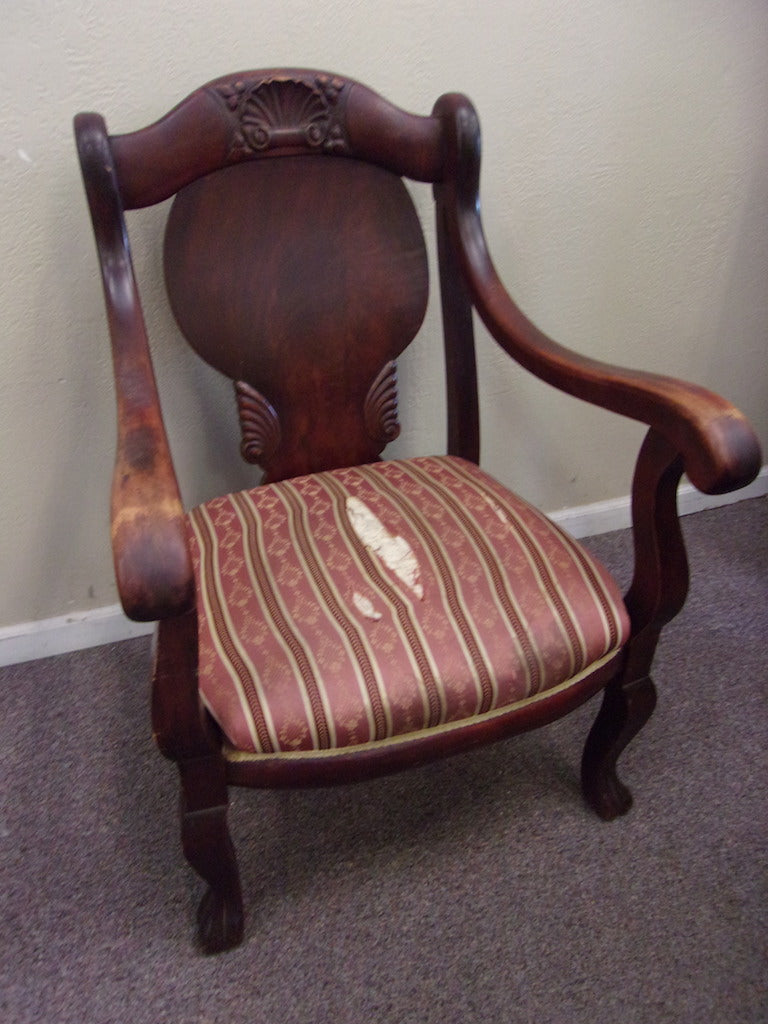 Occasional chair with arms antique or vintage 21028.2