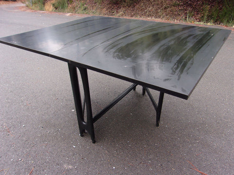 Black table drop leaf 21115
