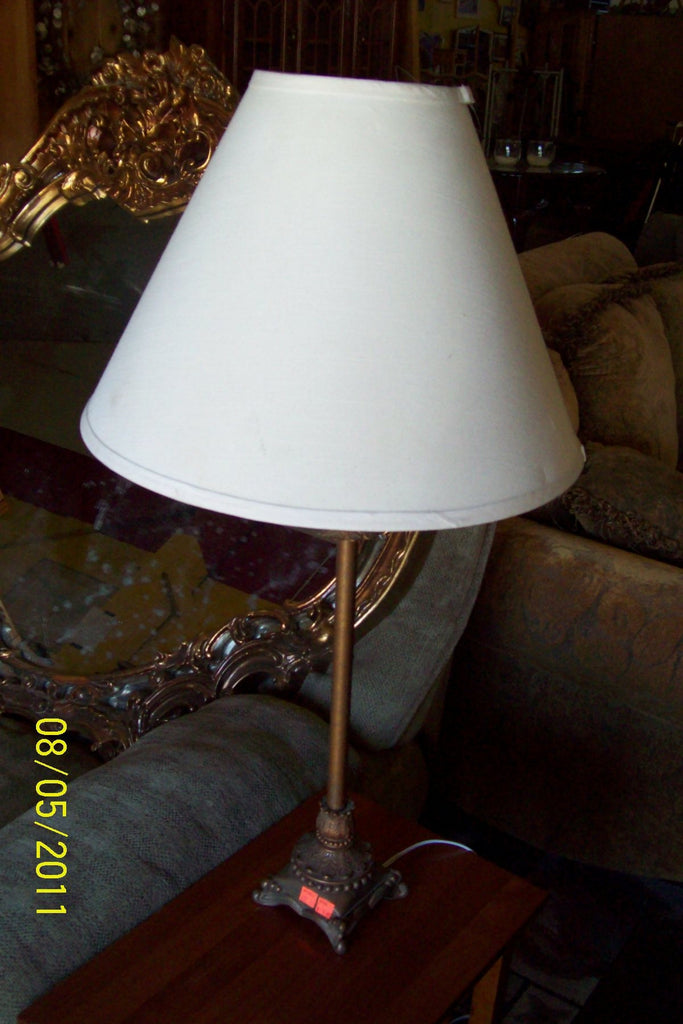 Lamp, metal base 9398