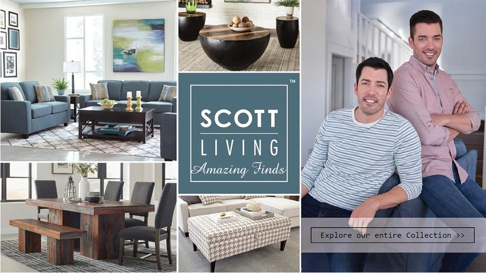 Scott Living furniture and rugs at Amazing Finds