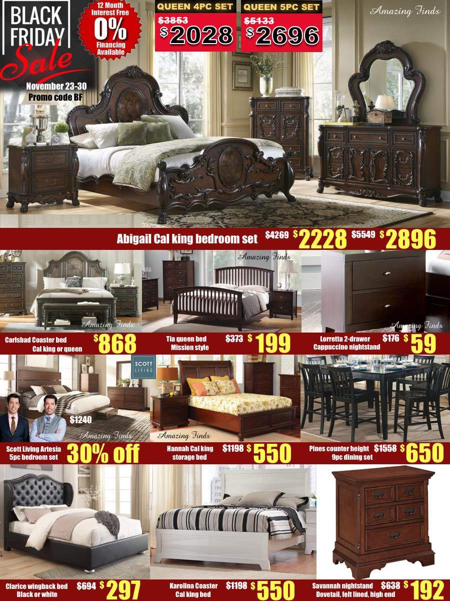 Hannah king storage bed SALE!