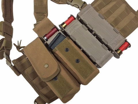 Ammopal Shotgun shell holder mounted to molle vest