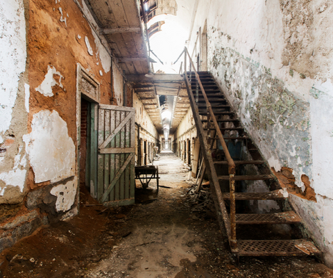 Haunted Locations Eastern State Penitentiary, Philadelphia