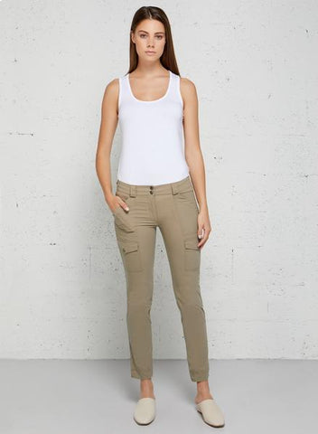 Kate Skinny Cargo Pant for Spring Travel