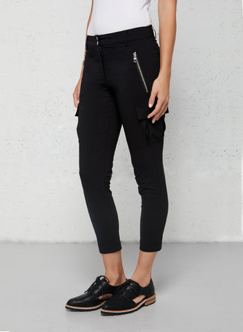 Travel Wardrobe Essentials Viva Cropped Cargo Pant