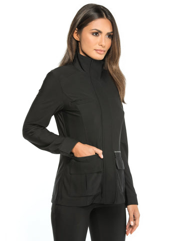 Stylish Airport Outfit Kenya Cozy Fleece-Lined Jacket
