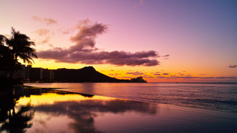 Best Destinations for Sunset Waikiki Beach at Sunset