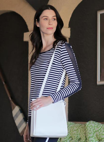 Naomi Nautical Striped Top
