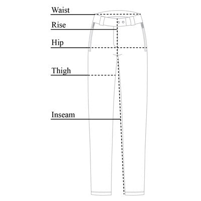 Susan Skinny Ankle Pant Size Chart