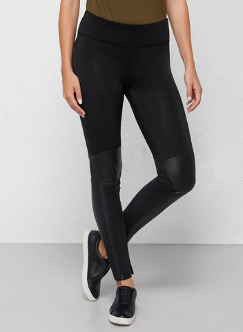 Traveling in Leggings The Italia Faux Leather Legging