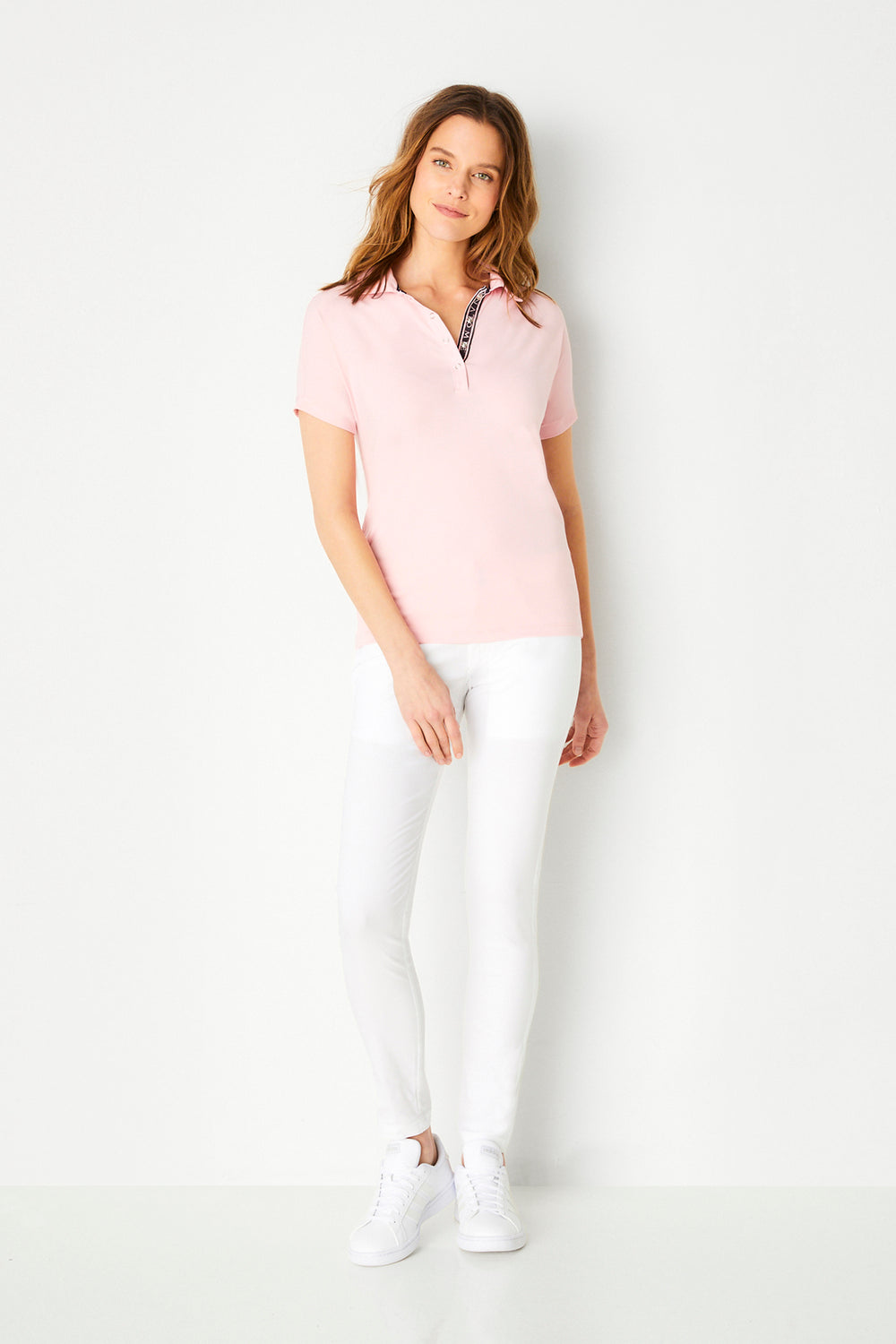 Ella Short Sleeve Polo Shirt