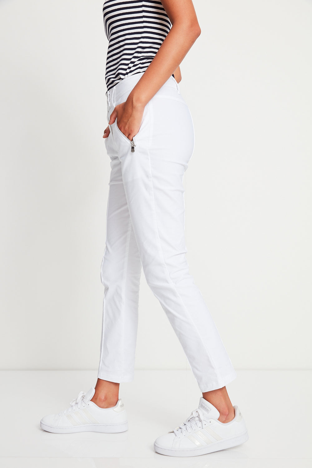 Peggy Curvy Zippered Pants