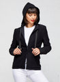 Daisy Hooded Knit Travel Blazer