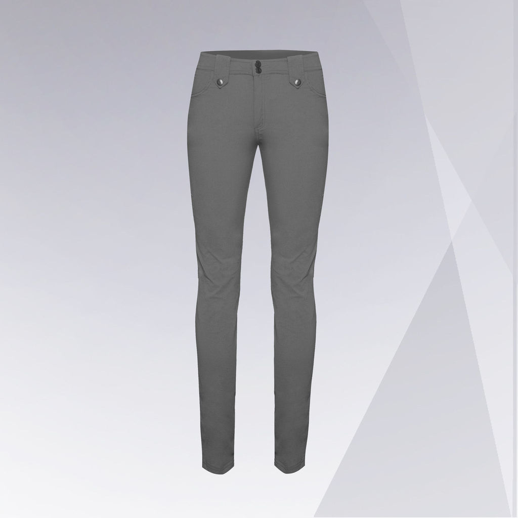 Skyler Travel Pant in Stone Grey