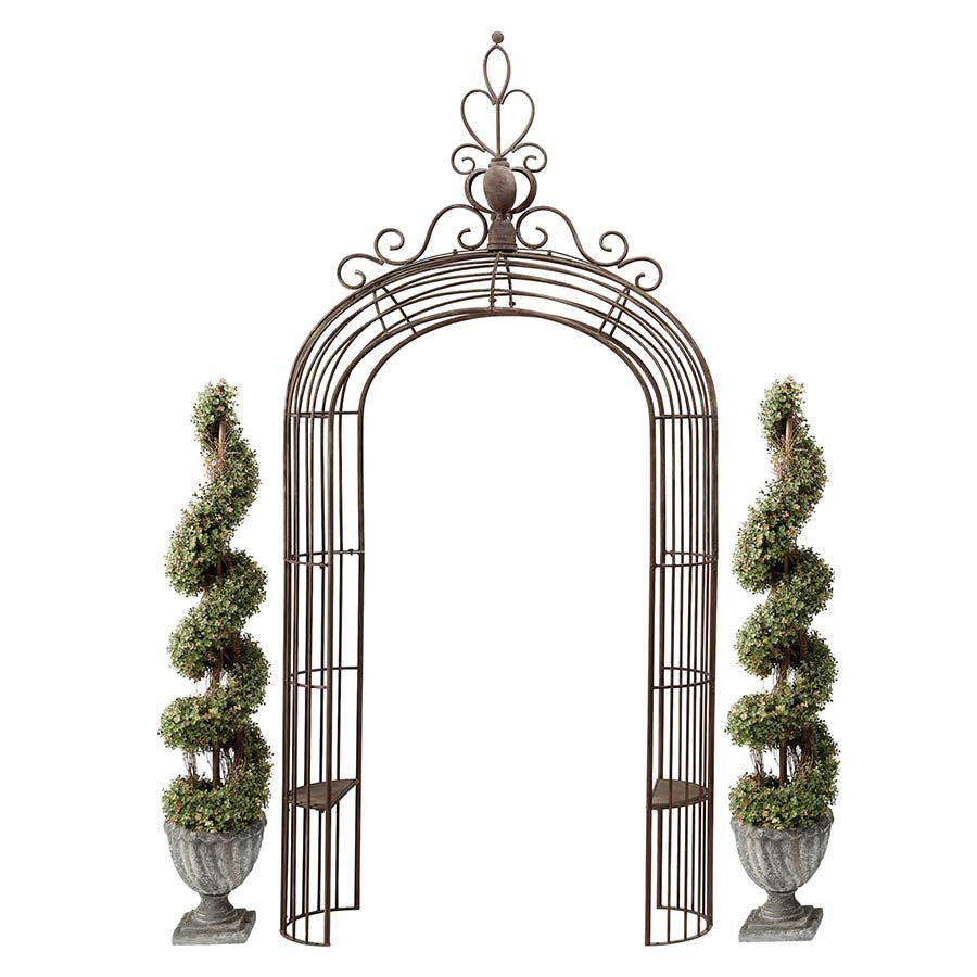 Design Toscano The Princesss Metal Garden Arch Arbor Perfect Arbors