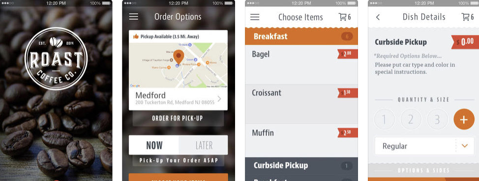 Download our Roast Coffee App and save time - Roast Coffee Company Medford, NJ