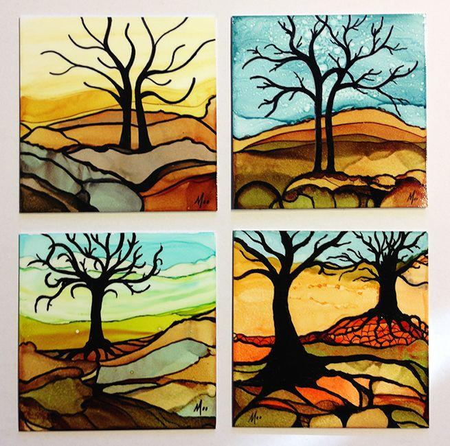 Pro,Tips! How to Paint with Alcohol Inks \u2013 Smart Art
