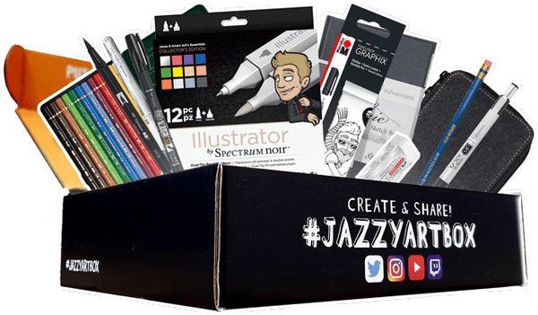 Jazza's Jazzy Art Box 2019