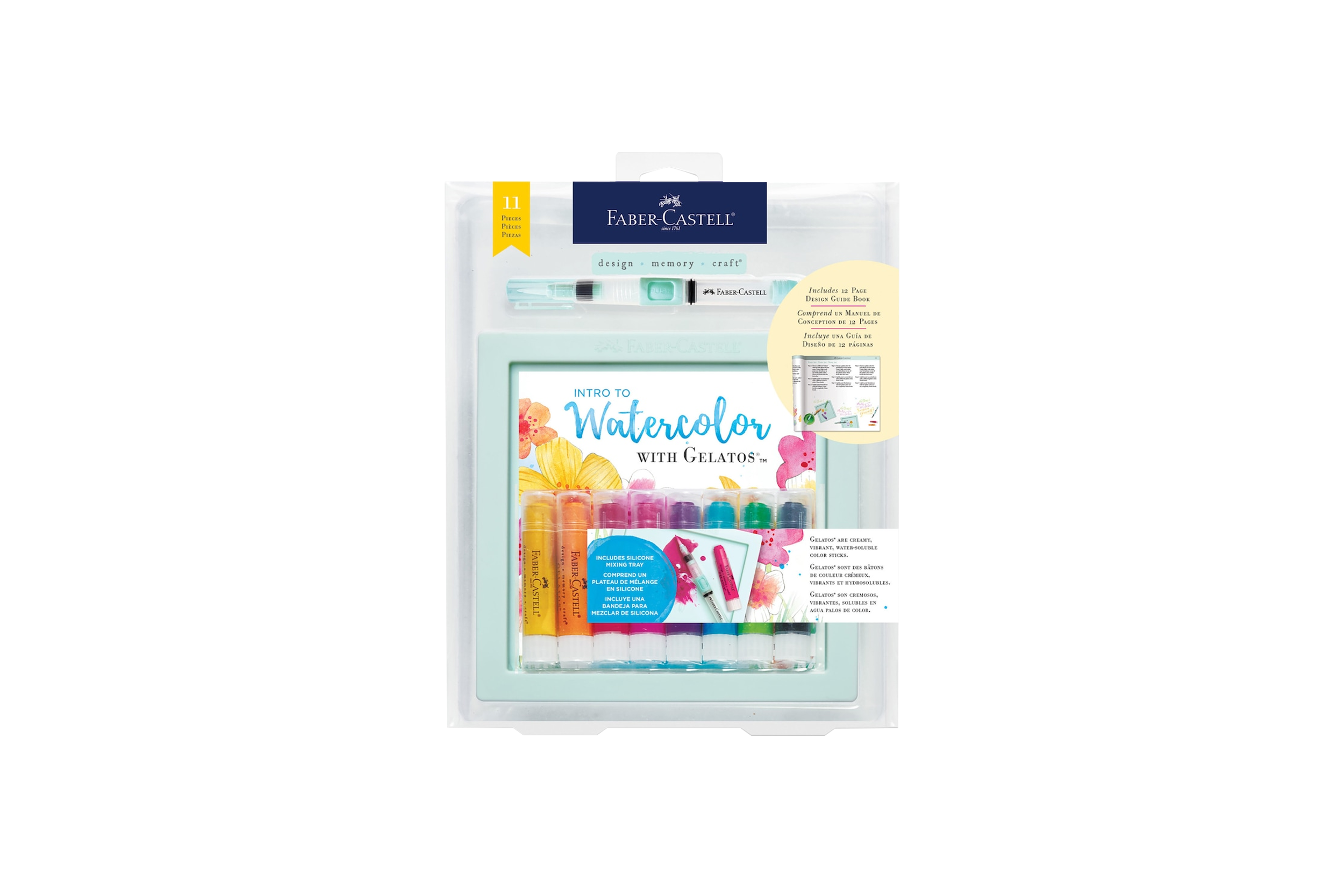 INTRO TO WATERCOLOR WITH GELATOS® 11 PCS