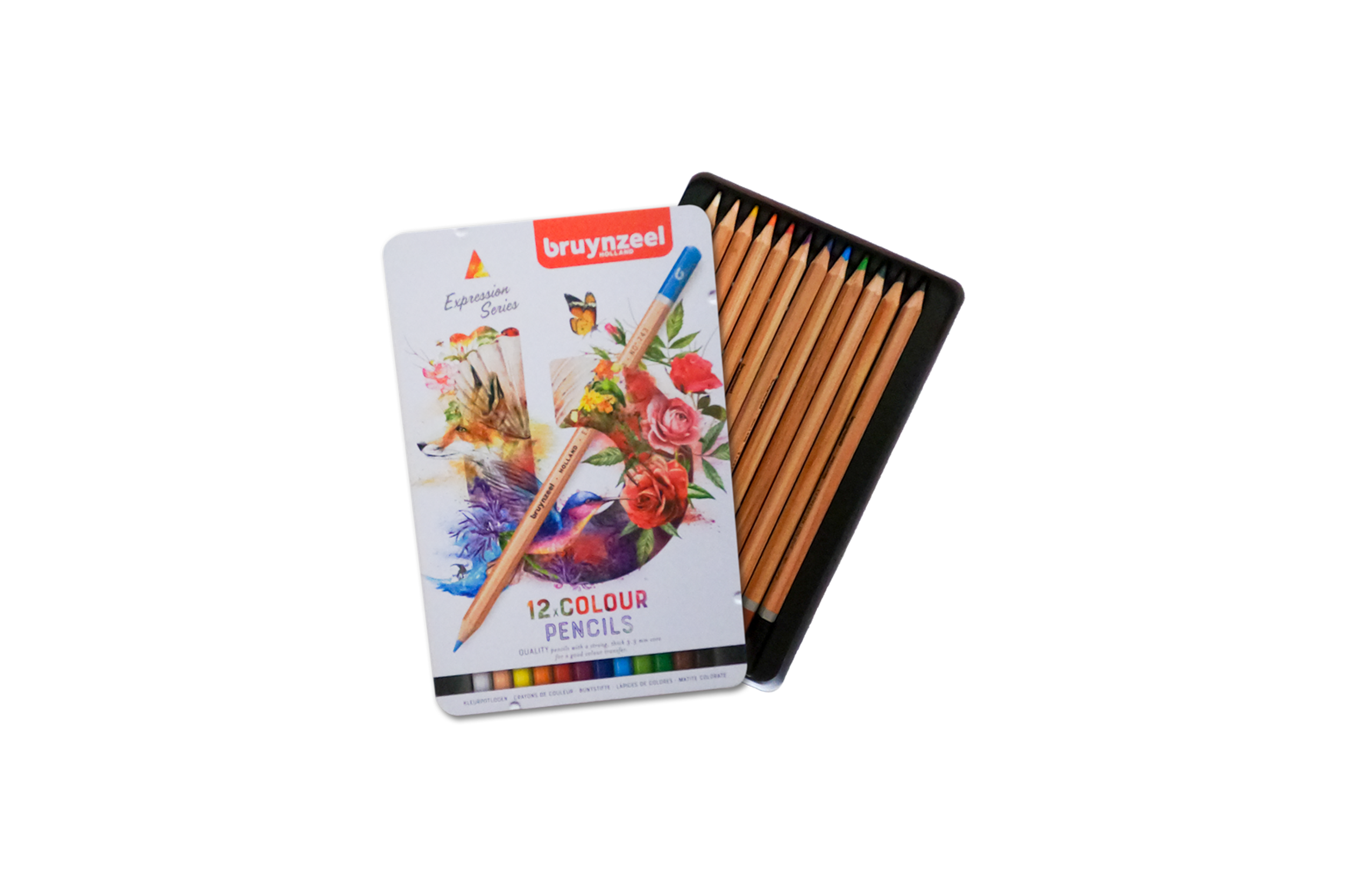 BRUYNZEEL EXPRESSION COLORED PENCIL SET
