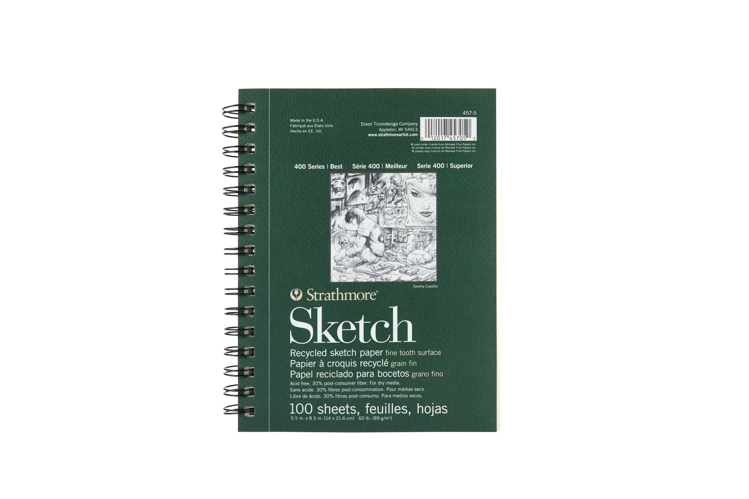 STRATHMORE RECYCLED SKETCHPAPER PADS 400 SERIES