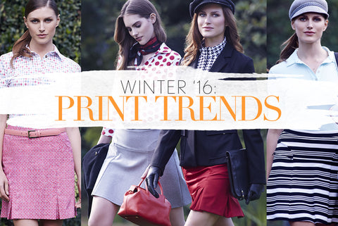 Winter '16 Print Trends