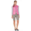 Brand New Day quilted lightweight vest in orchid.