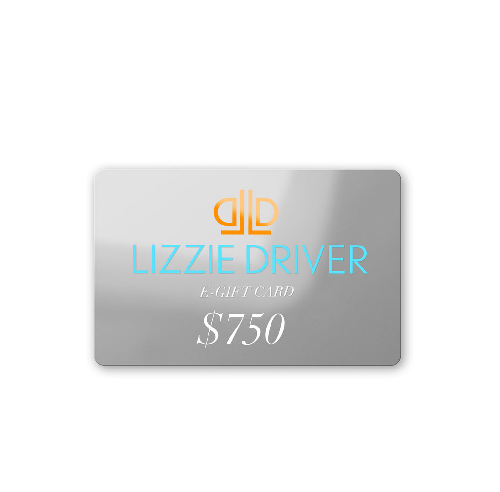 GIFT CARD: $750
