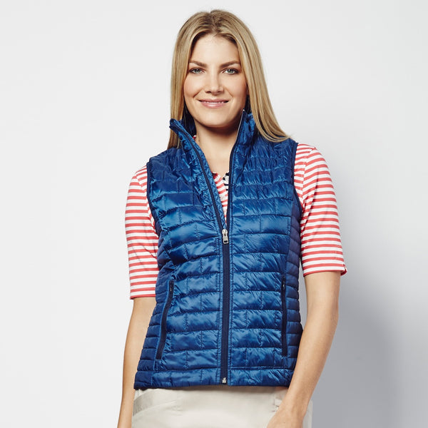 Dutch Blue Quilted Vest