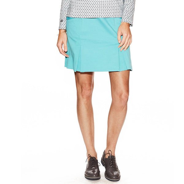 Loras Pleated Skort: 18""