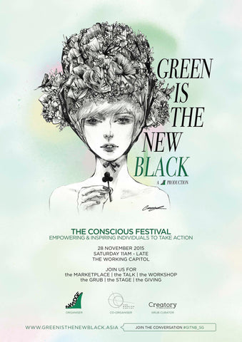 Conscious Festival : Green is The New Black | Singapore | The Wedge Asia | The Nomadic Trails