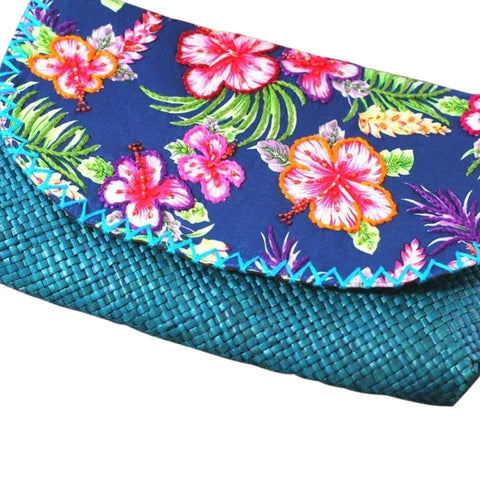 Blue Lagoon Envelope Clutch