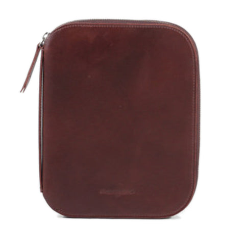 Multi-functional leather zip case.Gift Ideas for geek. Smart gadget case. Free shipping above %60