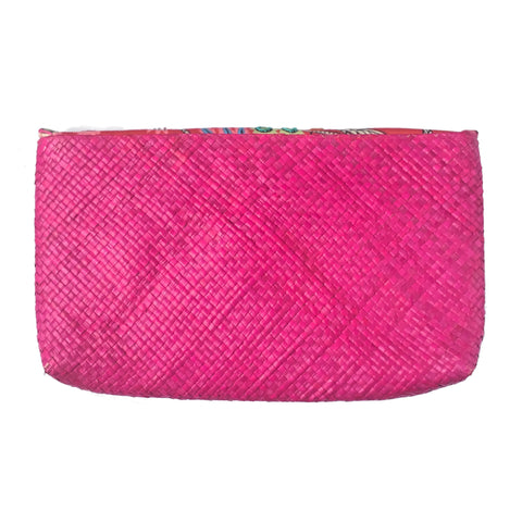 Pink Tribal Envelope Clutch | The Nomadic Trails