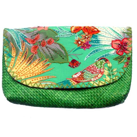 Green Canary Clutch