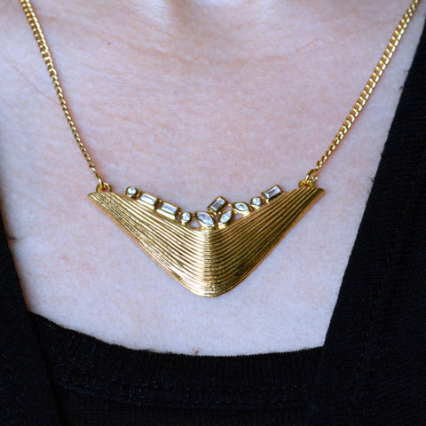 White Cubic Zirconia Necklace | The Nomadic Trails