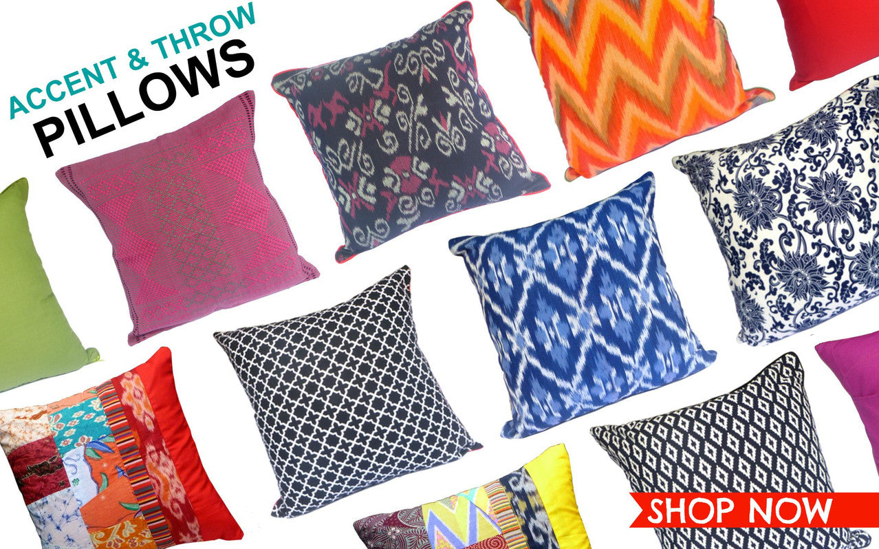Accent Pillows | Sustainable Lifestyle