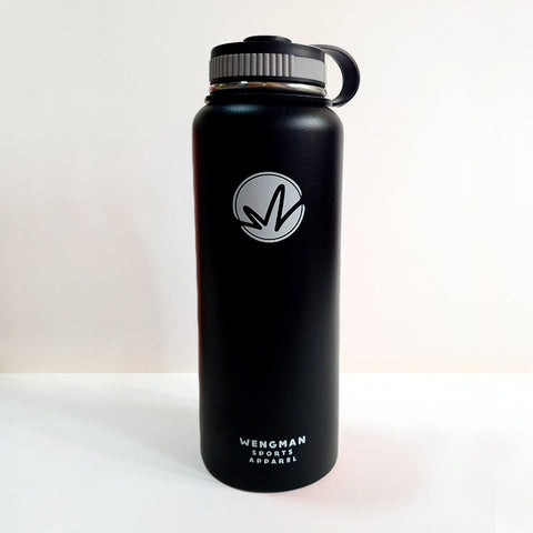WM Insulated Flask - BLACK