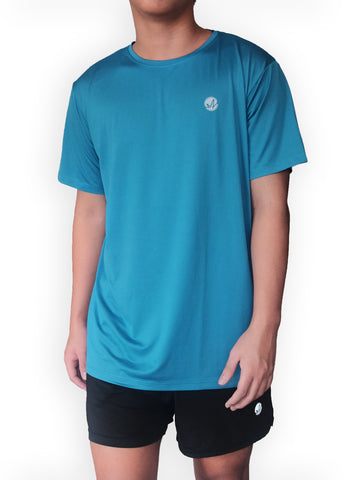 Dull Blue Classic Tech Shirt