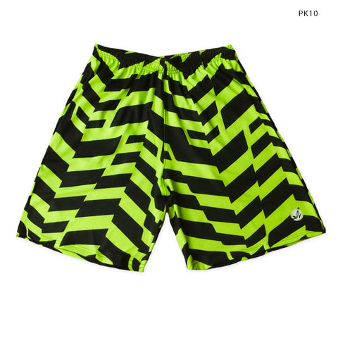 Neon Tire Tracks Training Shorts