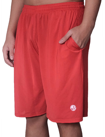 Ruby Red Training Shorts