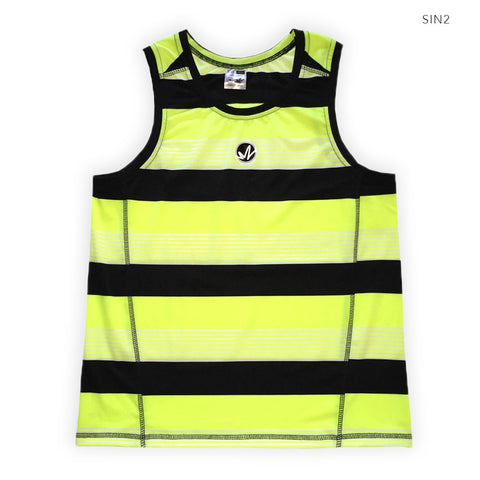 Neon Yellow Stripes
