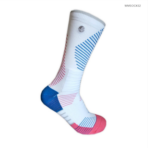 WM Performance Socks in PREPPY