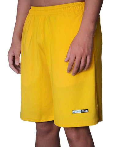 Yolk Yellow Training Shorts