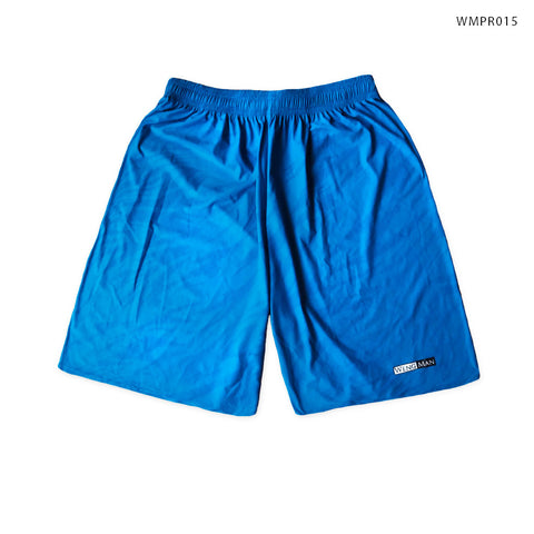 Blue Tiger Print Training Shorts